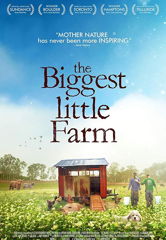 Movie poster for The Biggest Little Farm