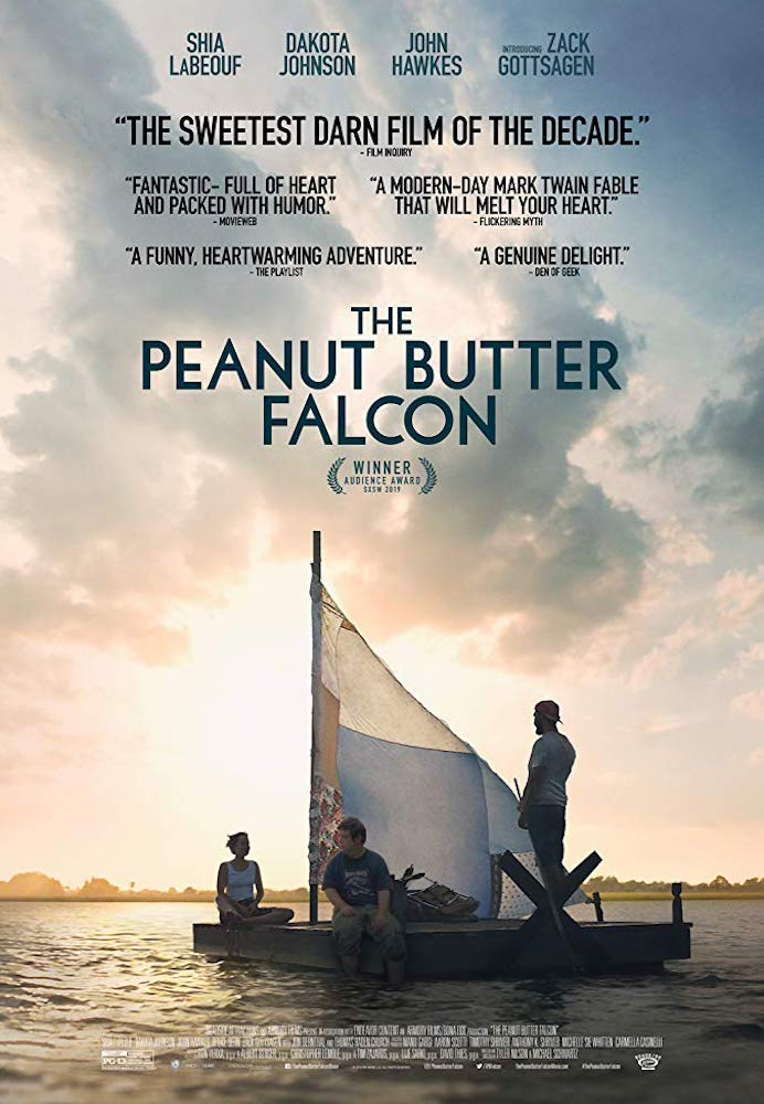 Movie poster for The Peanut Butter Falcon