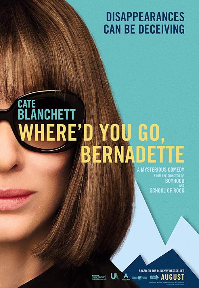 Movie poster for Where'd You Go, Bernadette