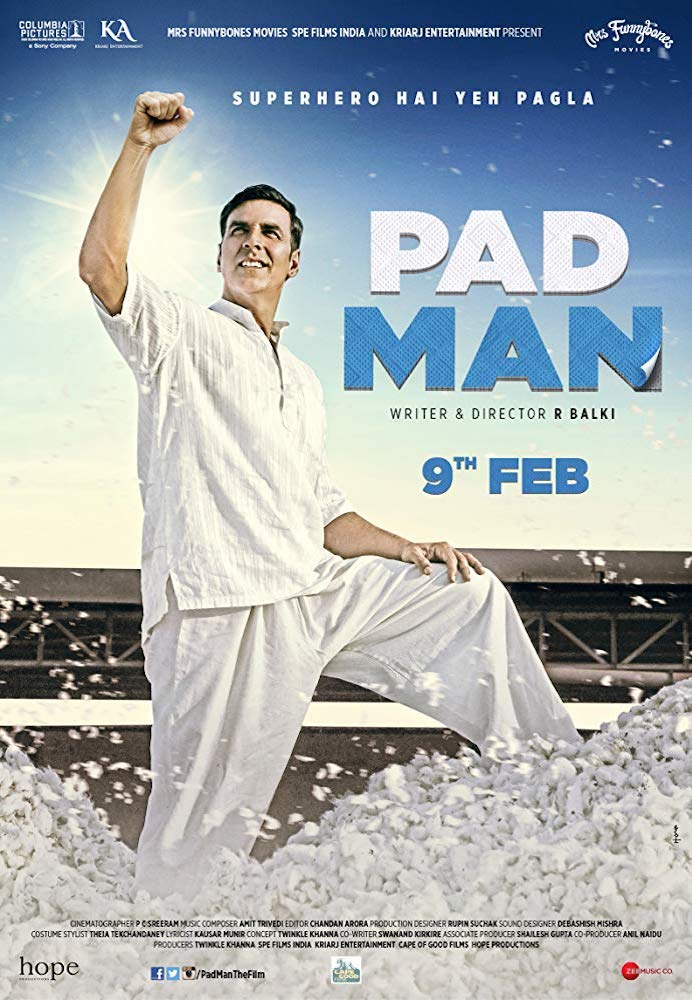 Movie poster for Padman