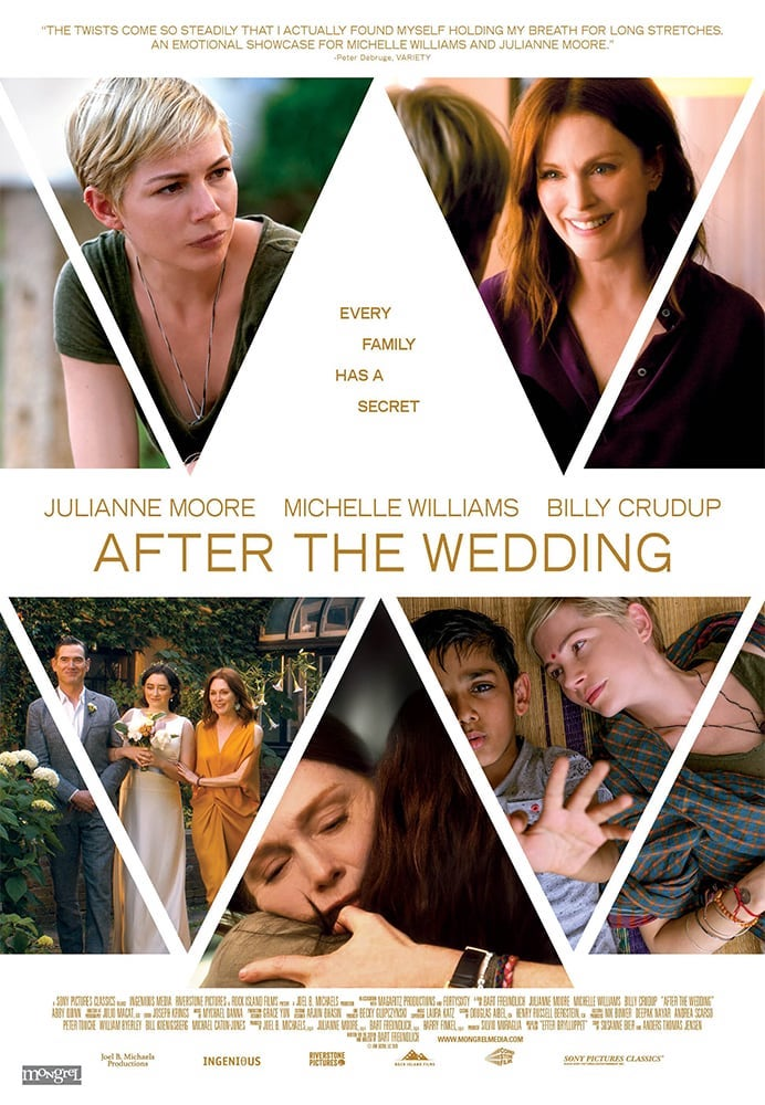 Movie poster for After the Wedding