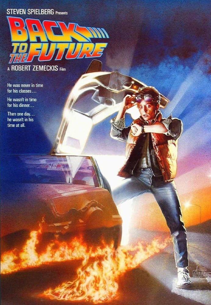 Movie poster for Back to the Future