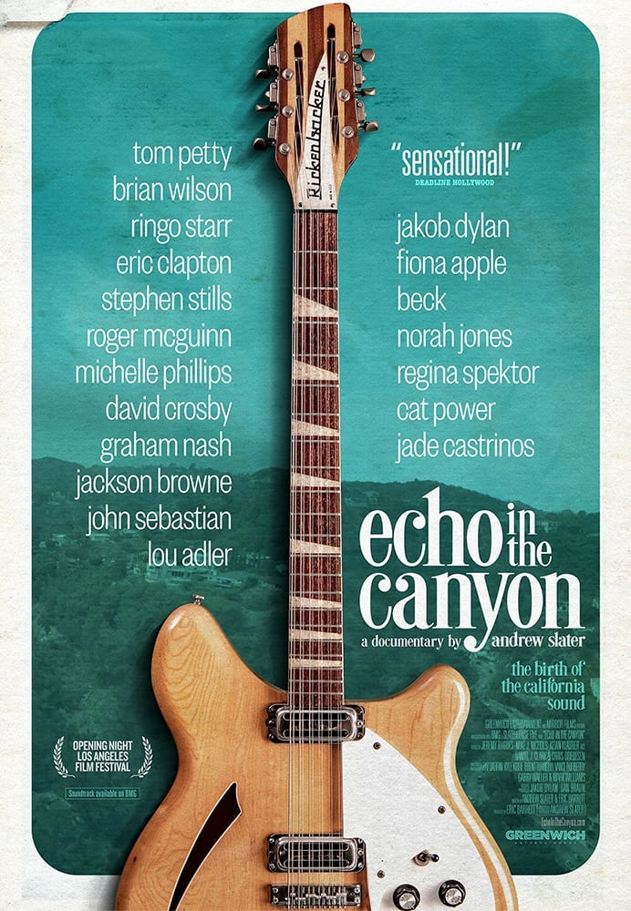 Movie poster for Echo in the Canyon