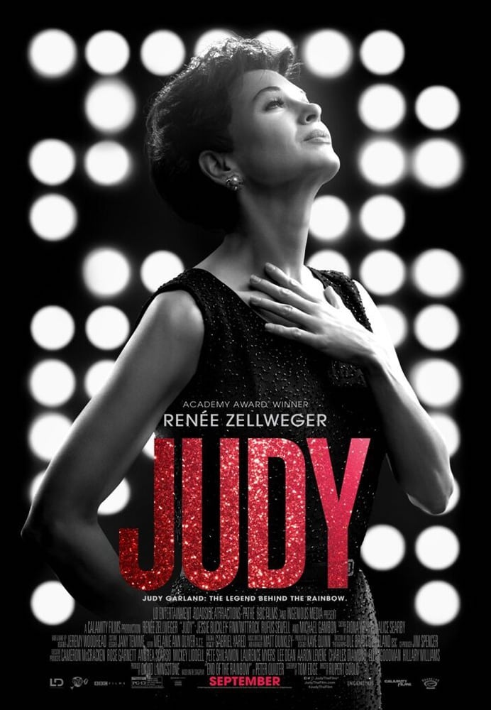 Movie poster for Judy