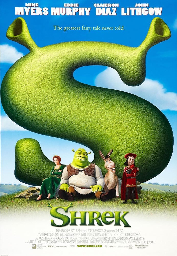 Movie poster for Shrek