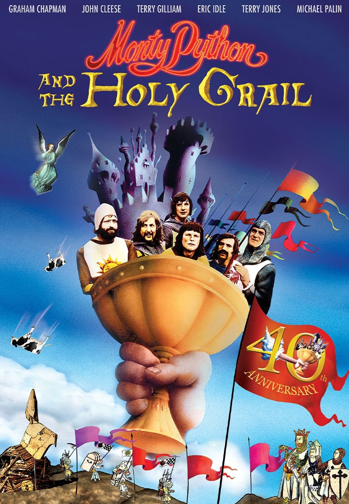 MONY PYTHON AND THE HOLY GRAIL